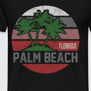 PALM BEACH 1212.png T-Shirts - Men's Premium T-Shirt