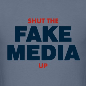Fake Media. - Men's T-Shirt