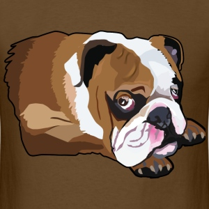 Cute Bulldog - Men's T-Shirt