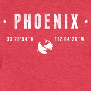 Phoenix T-Shirts - Fitted Cotton/Poly T-Shirt by Next Level