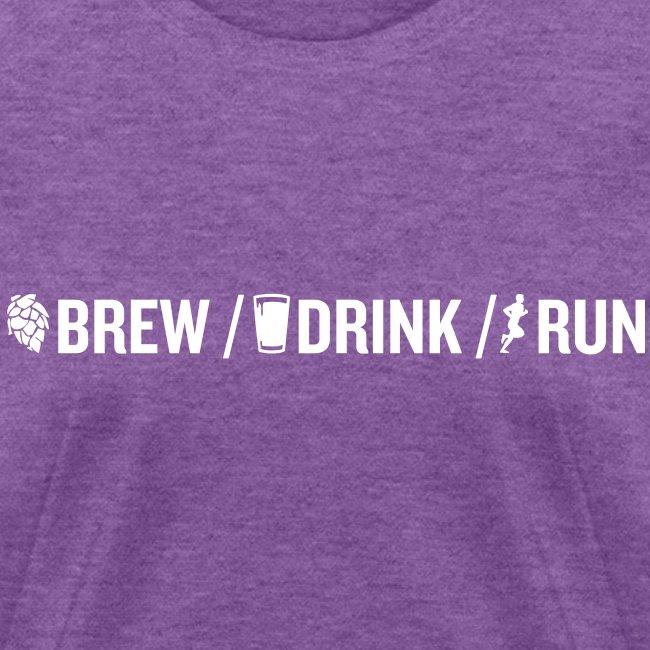 Brew Drink Run Women's T