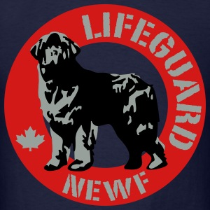 newfoundland__lifeguard__black__3c T-Shirts - Men's T-Shirt