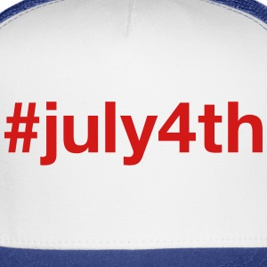 4TH OF JULY - Trucker Cap