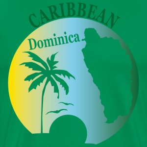 DOMINICA CARIBBEAN 2 - Men's Premium T-Shirt