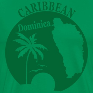 DOMINICA CARIBBEAN 3 - Men's Premium T-Shirt