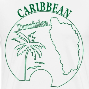 DOMINICA CARIBBEAN - Men's Premium T-Shirt