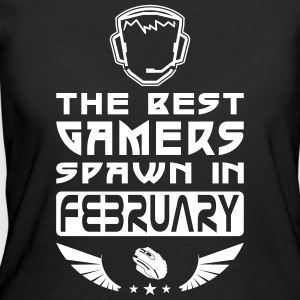 Gamers Spawn in February T-Shirts - Women's 50/50 T-Shirt