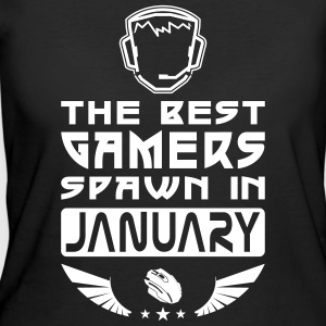 Gamers Spawn in January T-Shirts - Women's 50/50 T-Shirt