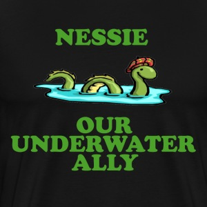 Nessie Our Underwater Ally T-Shirts - Men's Premium T-Shirt