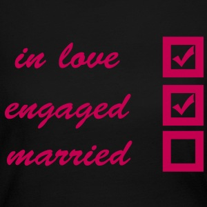 in love, engaged, married Long Sleeve Shirts - Women's Long Sleeve Jersey T-Shirt