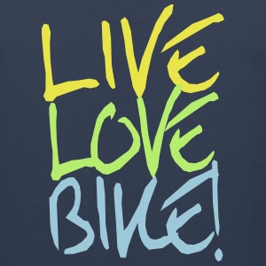 Live Love Bike!  Sportswear - Men's Premium Tank
