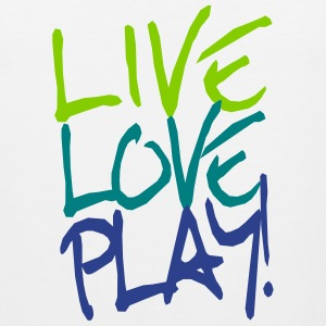Live Love Play! Sportswear - Men's Premium Tank