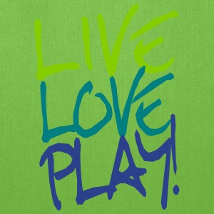 Live Love Play! Bags & backpacks - Tote Bag