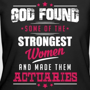 God Made Actuaries T-Shirts - Women's 50/50 T-Shirt