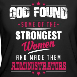 God Made Administrators T-Shirts - Women's 50/50 T-Shirt