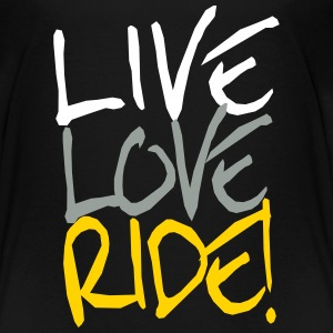 live_love_ride Baby & Toddler Shirts - Toddler Premium T-Shirt
