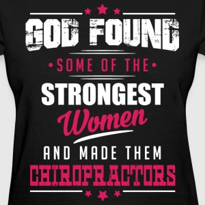 God Made Chiropractors T-Shirts - Women's T-Shirt