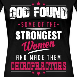 God Made Chiropractors T-Shirts - Women's Premium T-Shirt