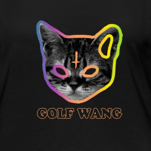 Golf Wang Cat Long Sleeve Shirts - Women's Premium Long Sleeve T-Shirt