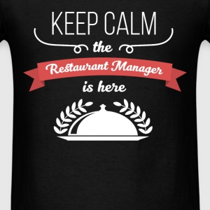 Restaurant Manager - Keep calm the Restaurant Mana - Men's T-Shirt