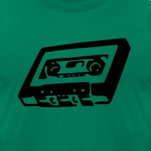 Old School Tape - Men's T-Shirt by American Apparel
