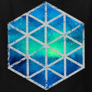 intergalactic hexagon - Kids' T-Shirt