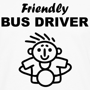 Friendly Bus Driver Long Sleeve Shirts - Men's Premium Long Sleeve T-Shirt