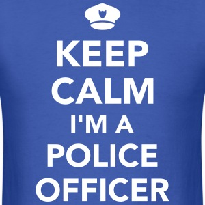 Police officer T-Shirts - Men's T-Shirt
