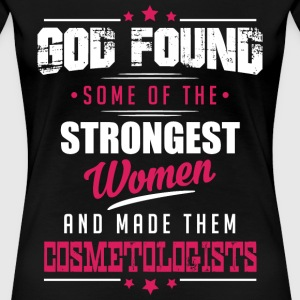 God Made Cosmetologists T-Shirts - Women's Premium T-Shirt