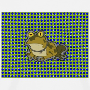 Toad w/Optical illusion - Men's Premium T-Shirt