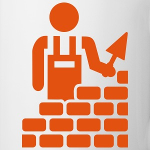 Brick layer Mugs & Drinkware - Coffee/Tea Mug