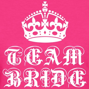 Team Bride Crown Wife Bachelorette Party T-Shirt - Women's T-Shirt