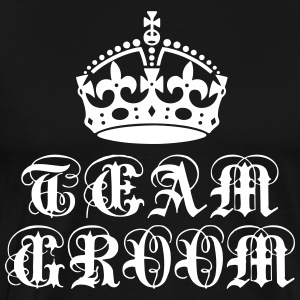Team Groom Crown Bachelor Party T-Shirt - Men's Premium T-Shirt