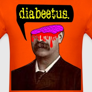 Original Artwork Head Slice Diabeetus T-Shirts - Men's T-Shirt