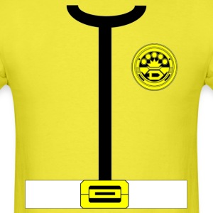 Dynaman Yellow  - Men's T-Shirt