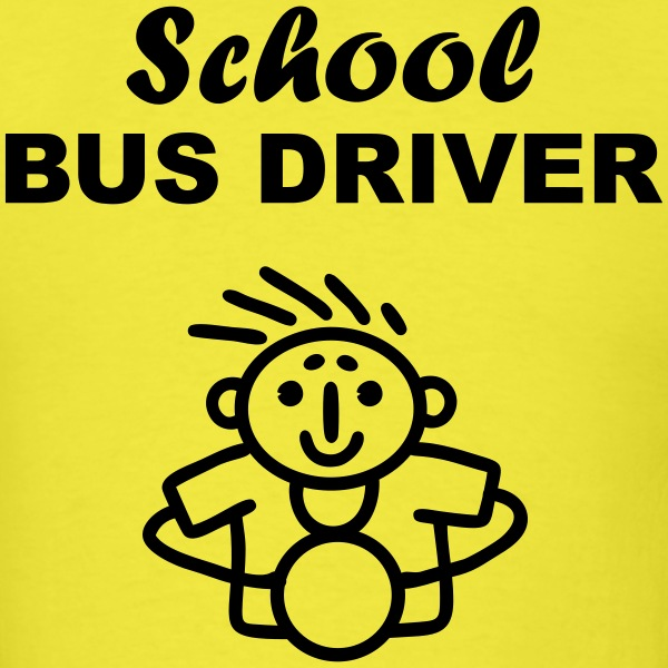 School Bus Driver T-Shirts - Men's T-Shirt