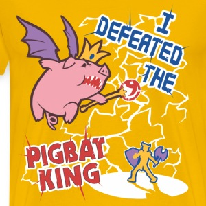 Pigbat Champion - Men's Premium T-Shirt