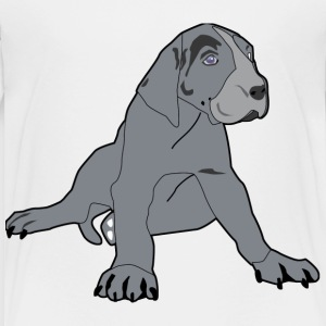 Great Dane Puppy - Toddler Premium T-Shirt