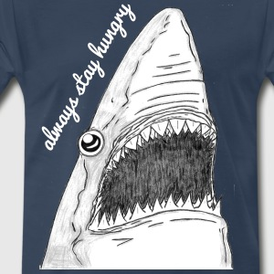 always stay hungry - Men's Premium T-Shirt