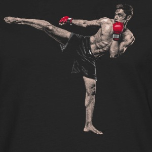Kickboxer Long Sleeve Shirts - Men's Premium Long Sleeve T-Shirt
