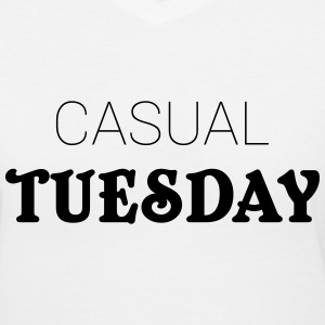 Casual Tuesday T-Shirts - Women's V-Neck T-Shirt