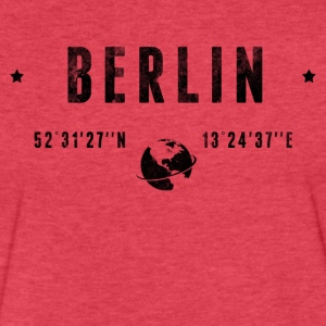 Berlin T-Shirts - Fitted Cotton/Poly T-Shirt by Next Level