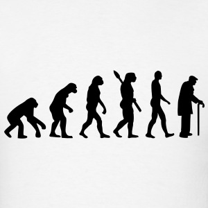 Evolution pensioner T-Shirts - Men's T-Shirt