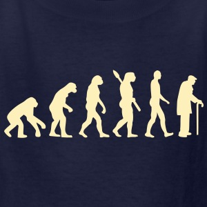 Evolution pensioner Kids' Shirts - Kids' T-Shirt