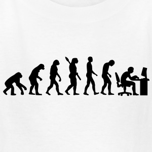 Evolution computer Kids' Shirts - Kids' T-Shirt