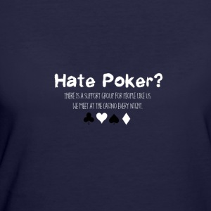 Hate Poker - Women's 50/50 T-Shirt