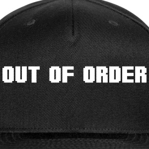 out of order Sportswear - Snap-back Baseball Cap