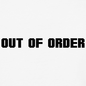 out of order T-Shirts - Baseball T-Shirt