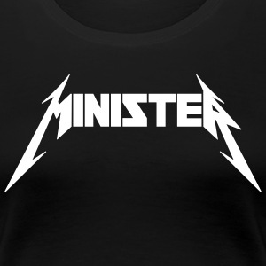 Minister (Rock Band Style) T-Shirts - Women's Premium T-Shirt