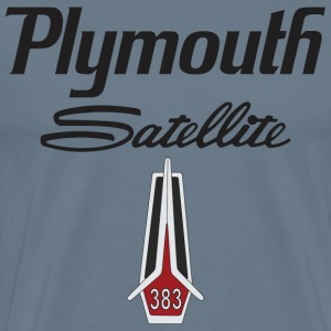 Plymouth Satellite 383 T-Shirts - Men's Premium T-Shirt